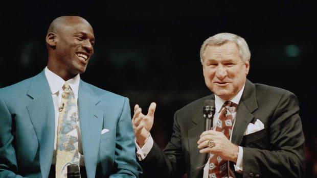 Michael Jordan statement dean smith dies obituary passing north carolina