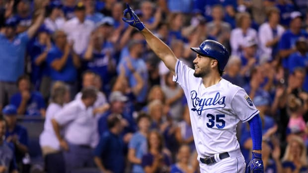 Royals clinch first AL Central title with win over Mariners--image