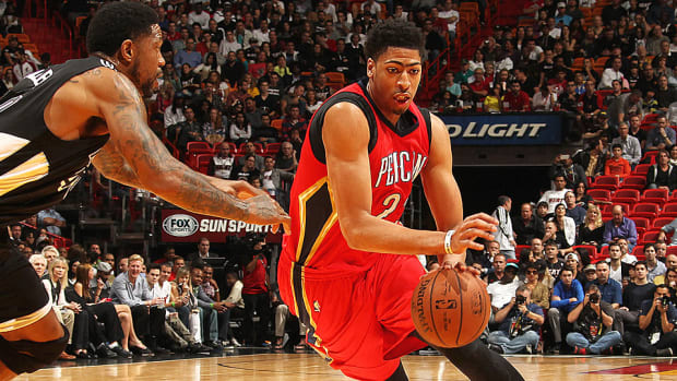 Anthony Davis Pelicans Heat 960