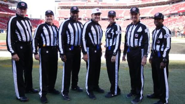 Officiating crew pulled from Sunday's Colts vs. Steelers game - IMAGE