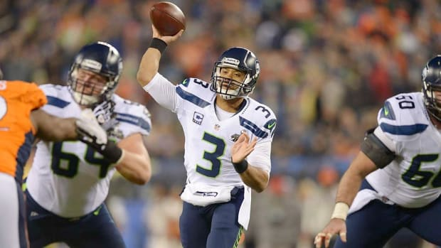 Russell Wilson Seahawks Super Bowl