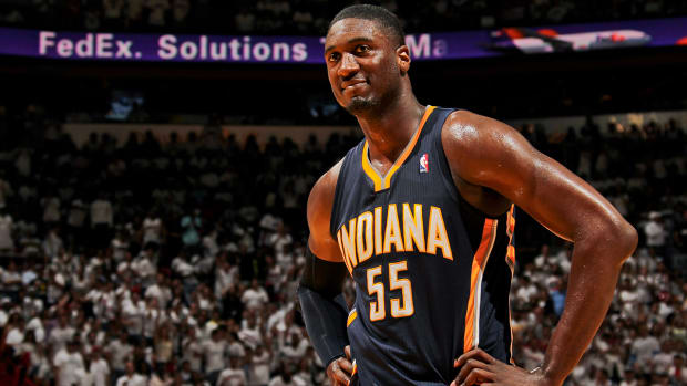 Report: Roy Hibbert opts into contract, Pacers looking for trade IMAGE