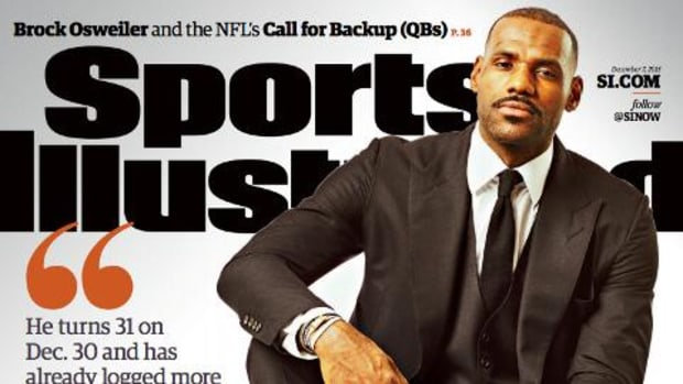LeBron James lands cover of Sports Illustrated - IMAGE