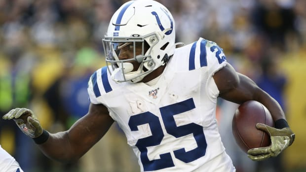 Indianpolis Colts RB Marlon Mack