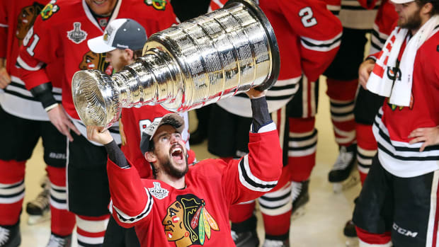 Chicago Blackhawks win third Stanley Cup in six seasons IMAGE