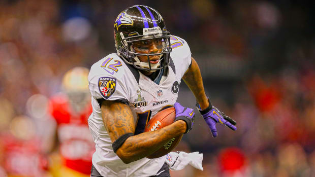 Report: Chargers sign WR/KR Jacoby Jones to two-year deal