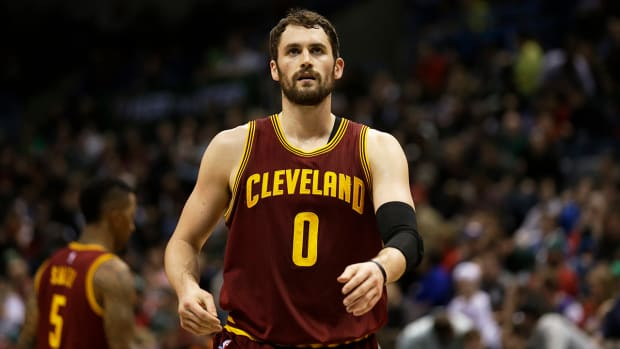 Report: Kevin Love has opted out of his contract with the Cavaliers IMAGE