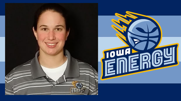 Iowa Energy hire Nicki Gross as D-League's only female assistant coach--IMAGE
