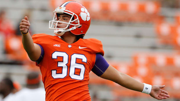 Clemson kicker Ammon Lakip charged with cocaine possession, DUI-- IMAGE