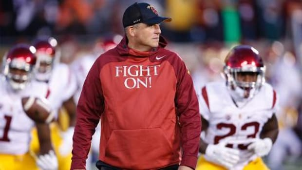 USC names Clay Helton permanent head coach - IMAGE