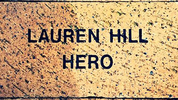 A Whole New Approach: Lauren Hill gets brick in Indiana Basketball Hall of Fame