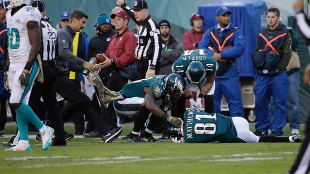NFL Week 10 Injury roundup: QBs Landry Jones, Sam Bradford hurt IMAGE