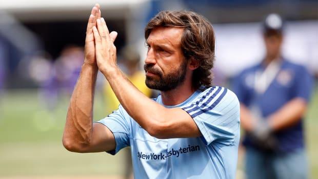 Andrea Pirlo makes MLS debut IMAGE