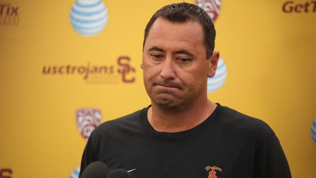 USC fires head coach Steve Sarkisian--IMAGE