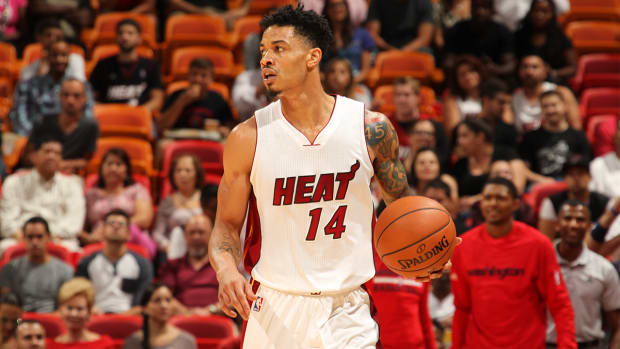 Miami Heat suspend Gerald Green two games for detrimental conduct--IMAGE
