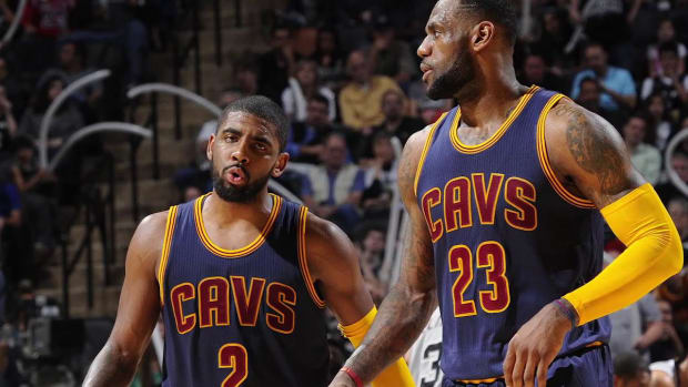 Kyrie Irving: Cavaliers would have won title if everyone was healthy--IMAGE