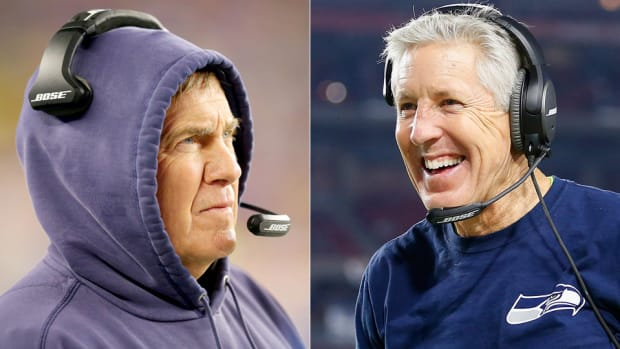 super bowl xlix bill belichick pete carroll new england patriots seattle seahawks