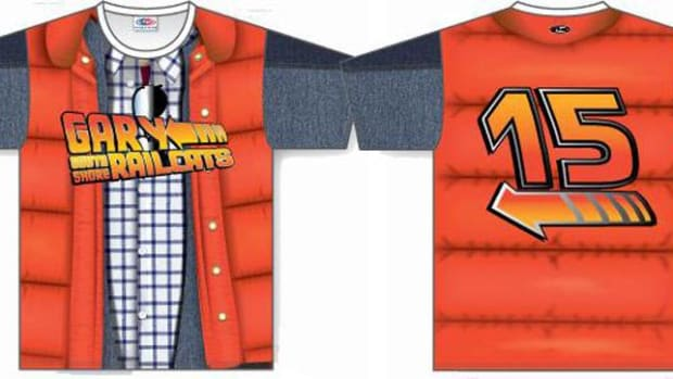 gary railcats back to the future jerseys
