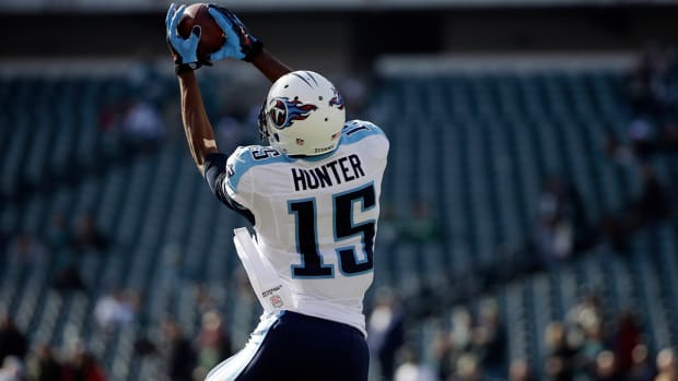 Titans WR Justin Hunter charged with felony assault IMAGE