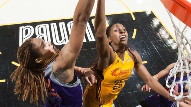 Brittney Griner files to annul marriage to Glory Johnson IMAGE