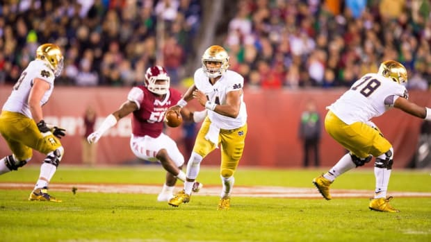 Man of the moment: How DeShone Kizer came to be the key to Notre Dame's College Football Playoff hopes