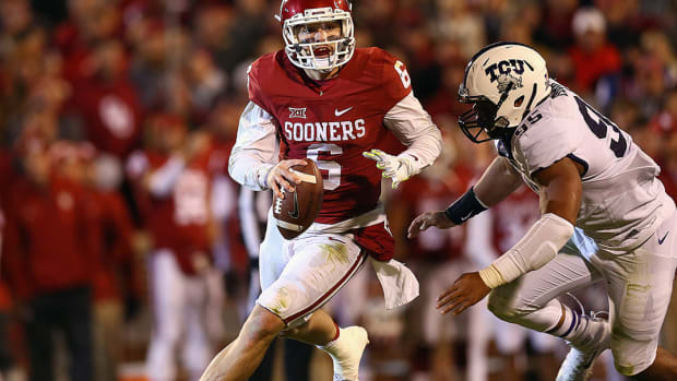 Oklahoma QB Baker Mayfield passed concussion tests after win over TCU - IMAGE