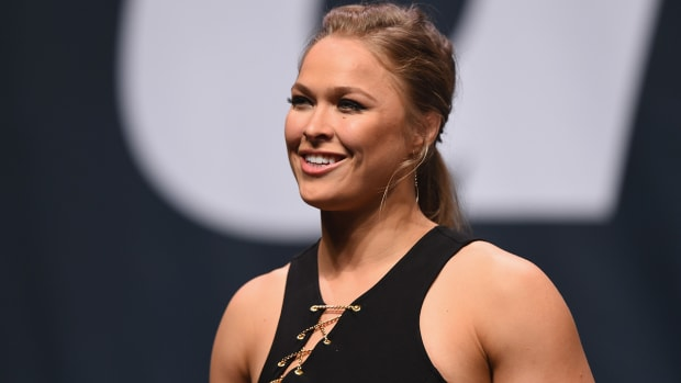 Ronda Rousey forces man to tap out on the 'Ellen' show--IMAGE