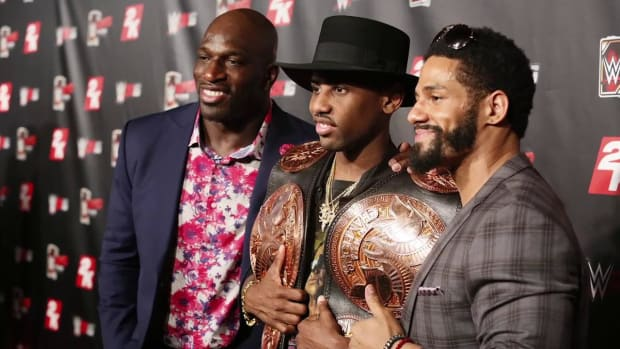 WWE's Titus O'Neil discusses race, wrestling, and 'Gator good' - IMAGE