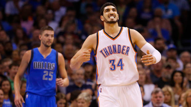 Report: Thunder to match Blazers' offer sheet for Enes Kanter--IMAGE