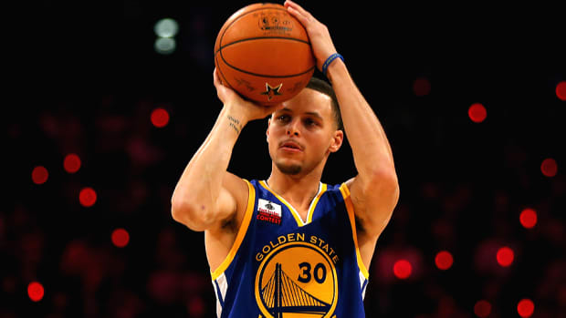 Stephen Curry Warriors Three Point Contest 960