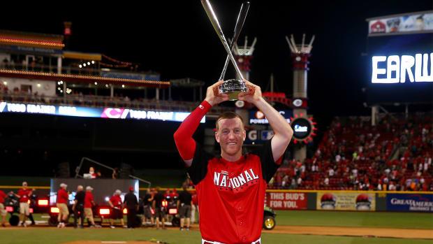 Todd Frazier wins 2015 Home Run Derby IMAGE