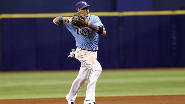 Yunel Escobar on Rays