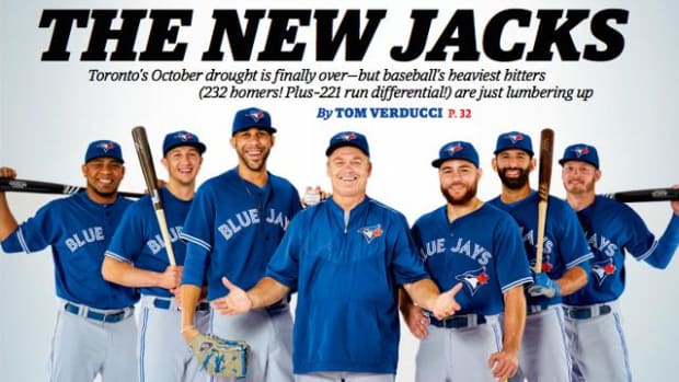 Toronto Blue Jays land cover of Sports Illustrated - IMAGE