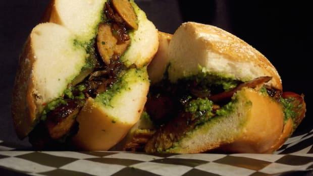 Ironbound Spicey Linguica Sandwich.JPG