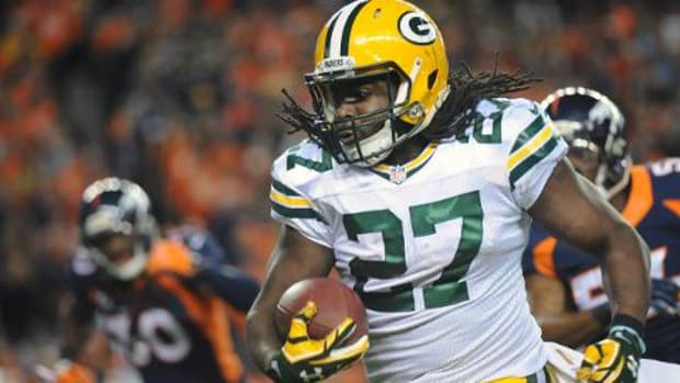 Packers running back Eddie Lacy missed curfew before Thursday Night Football -- IMAGE