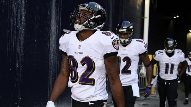 Report: 49ers considered 'front-runners' to sign Torrey Smith  IMAGE