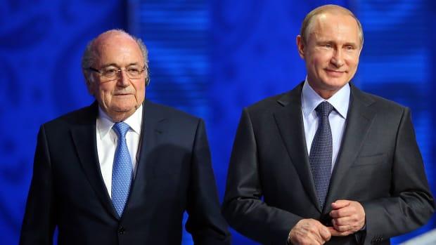 Vladimir Putin: People like Sepp Blatter deserve Nobel prize IMAGE