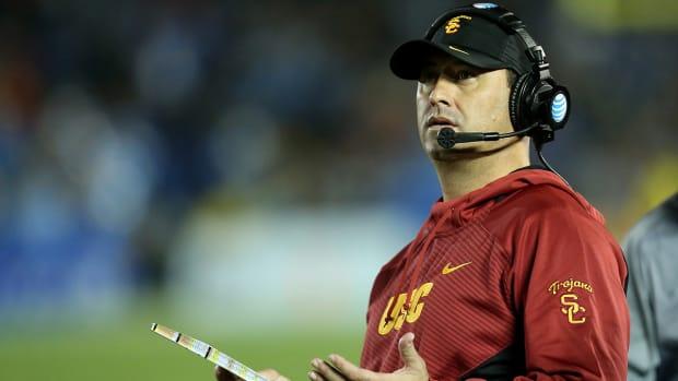Steve Sarkisian, USC sit at 3-2 following loss - IMAGE