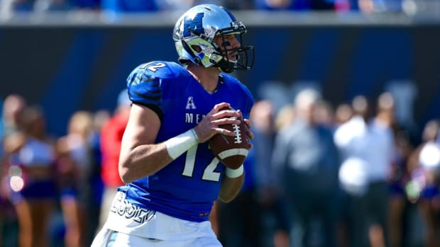 Memphis QB Paxton Lynch was unheralded out of high school, but now he has the Tigers primed for greatness