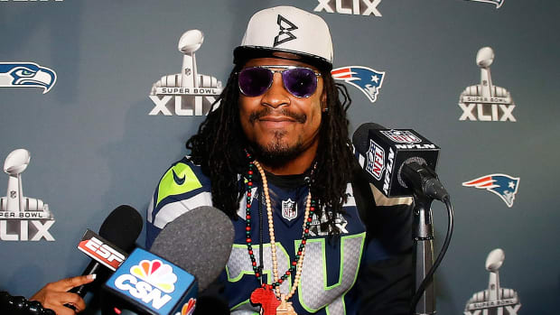 Has Marshawn Lynch become a distraction to the Seahawks?-Image