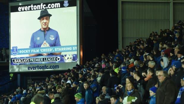 sylvester stallone everton halftime speech creed