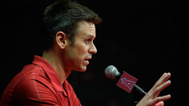 Angels GM Jerry DiPoto steps down IMAGE