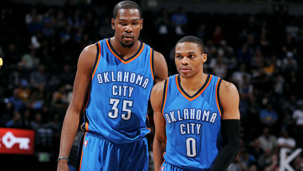 Kenny Smith: Kevin Durant and Russell Westbrook are equals-image