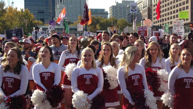 Temple steals Philadelphia spotlight with College GameDay appearance