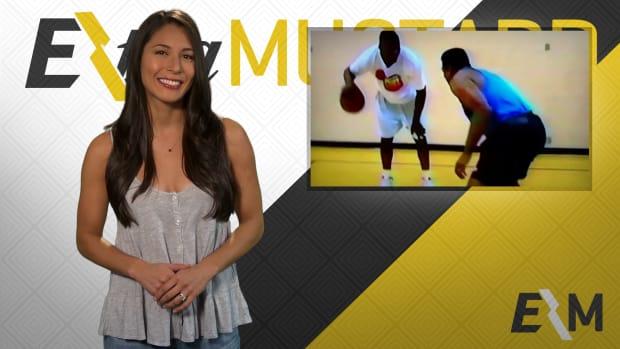 Mustard Minute Throwback Thursday: Ahmad Rashad plays basketball with NBA rookie Shaq IMG