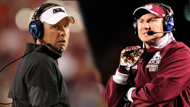 Hugh Freeze, Dan Mullen call for change in state flag - IMAGE