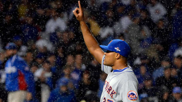 Mets top Cubs 5-2 for commanding 3-0 lead in NLCS--IMAGE