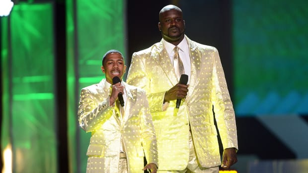 Nick Cannon gives props to Shaq for acting skills - Image