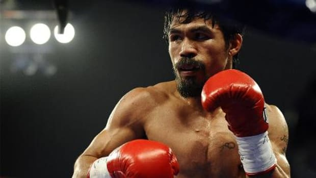 Manny Pacquiao delays announcement of his opponent -- IMAGE