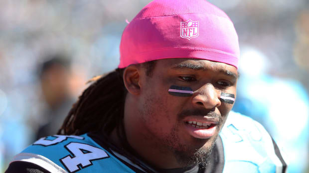 DeAngelo Williams breast cancer